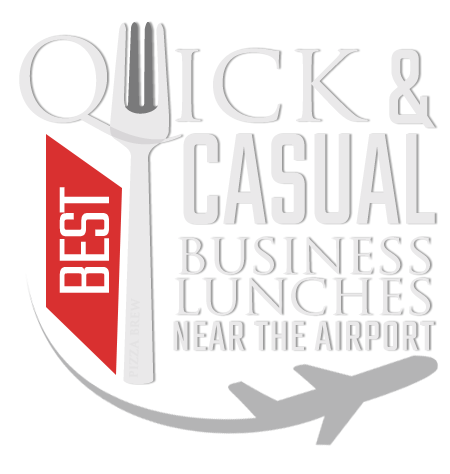 Calgary Avenue awarded Pizza Brew as the Best Quick and Casual Business Lunch spots near the airport