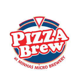Enjoy home style pizzas with freshly brewed beers at Pizza Brew restaurant in Calgary