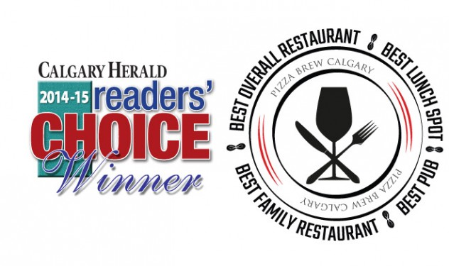Calgary Herald Reader Choice Restaurent Winners