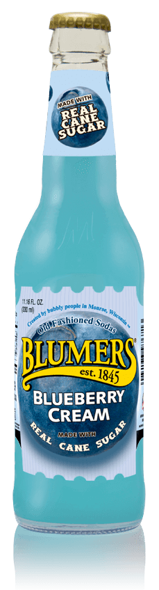 Blumers Old Fashioned Soda Blueberry with Real Cane Sugar