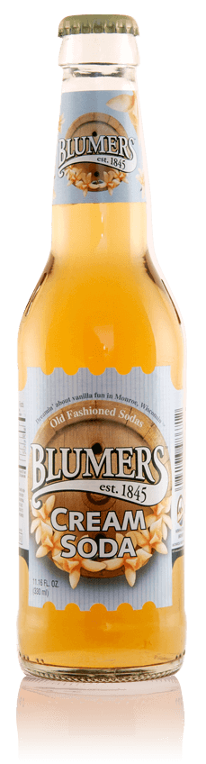 Blumers Old Fashioned Soda Cream Soda with Real Cane Sugar