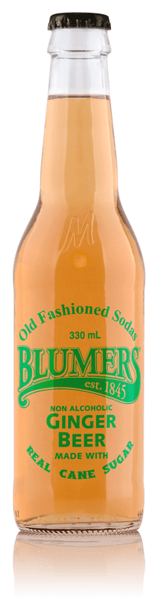 Blumers Old Fashioned Soda Ginger Beer with Real Cane Sugar
