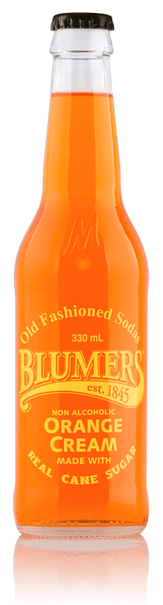 Blumers Old Fashioned Soda Orange Cream with Real Cane Sugar
