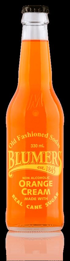 Blumers Old Fashioned Soda Orange Cream with Real Cane Sugar