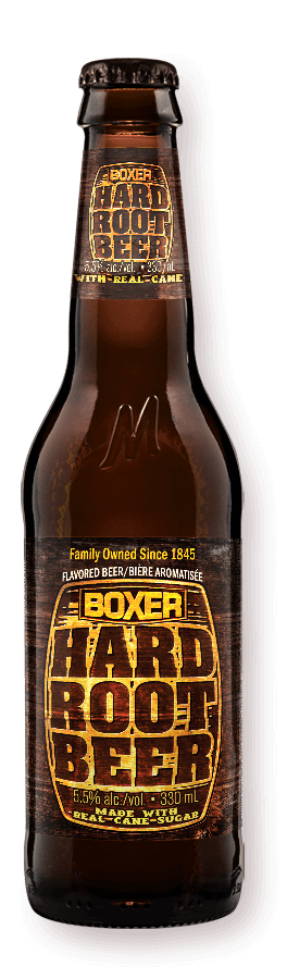 Boxer Hard Root Beer by Minhas Craft Brewery