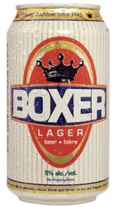 Boxer Lager Beer