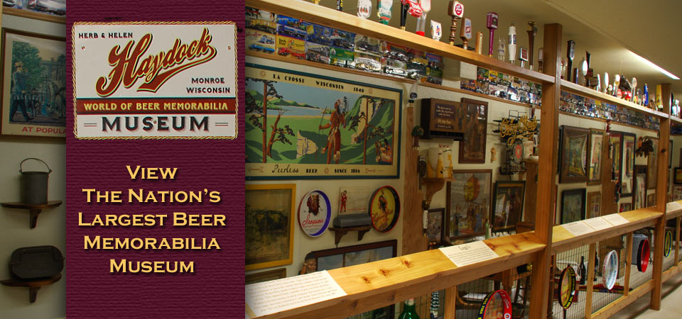 The Nations Largest Beer Memorabilia Museum at Minhas Craft Brewery
