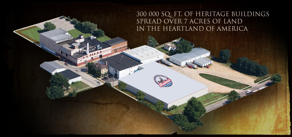 300 000sq. ft. of Heritage Buildings spread over 7 acers of land in the heartlabd of America.