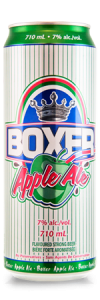 Boxer Apple Ale - refreshing taste of apple with beer