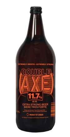 Double Axe Beer 1180 mL Extra Strong Beer