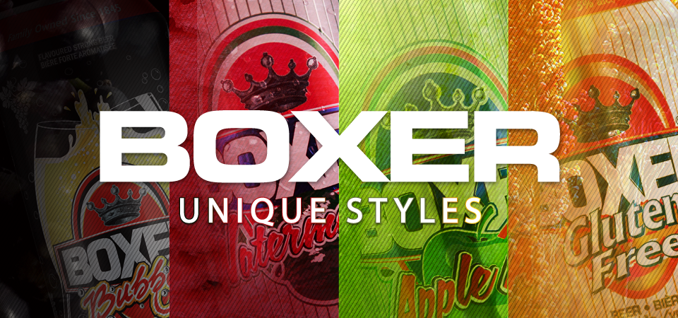 Check out Boxer's latest styles of beer